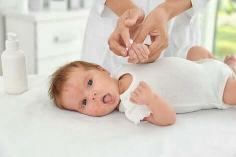 赤ちゃんのスキンケア 新生児