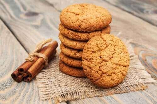 簡単シナモンクッキーのレシピ