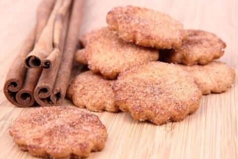 シナモンとクッキー 簡単シナモンクッキーのレシピ