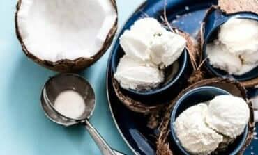 乳製品不使用ココナッツアイスクリームの作り方