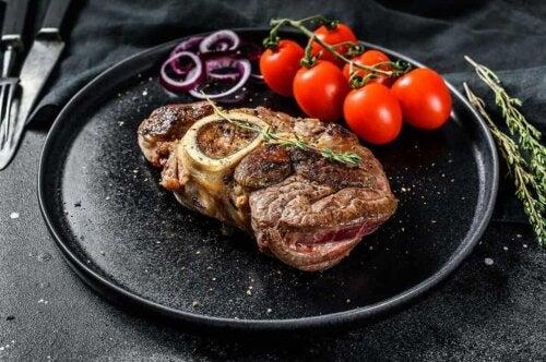 ステーキの玉ねぎ添え  レシピ